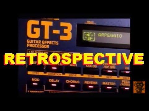 Boss Gt 3 Multi Effects Processor Retrospective Daw Recorded Demo