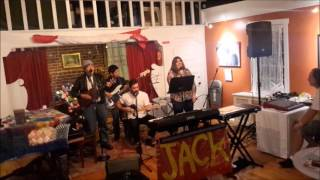 "Metuchen Open Mic ""Little Boxes""  performs ""Atlantic City"""