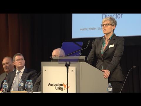 Australian Unity's 2016 Annual General Meeting
