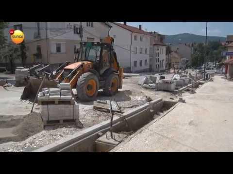 RTV Sunce - Rekonstrukcija Jadranske i glavne ulice