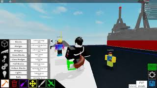 Roblox | Plane crazy mini battle ship tutorial part 1