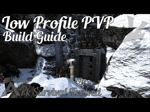 Low Profile PVP Base | Build Guide | Ark: Survival Evolved