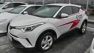 Toyota CHR. Тест драйв