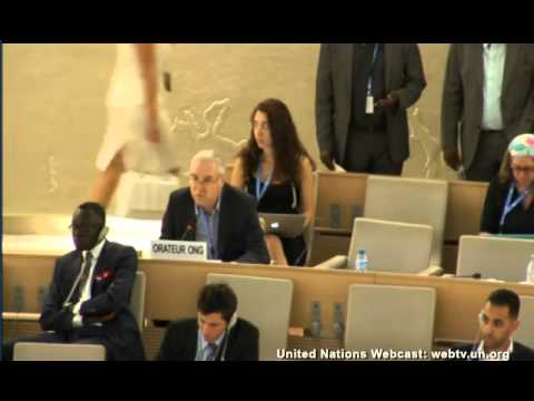 Professor Gerald Steinberg Speaks at UN Human Rights Council June 30th, 2015