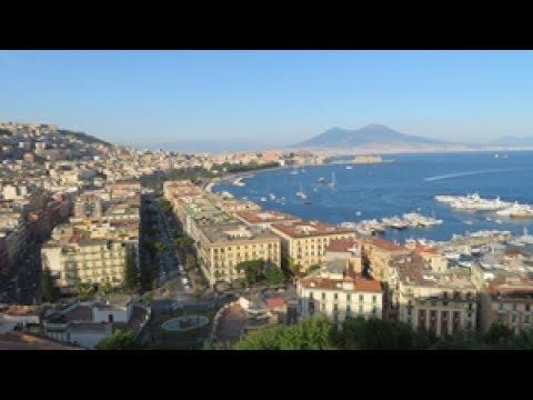 Napoli vista da Sant\'Antonio a Posillipo - YouTube