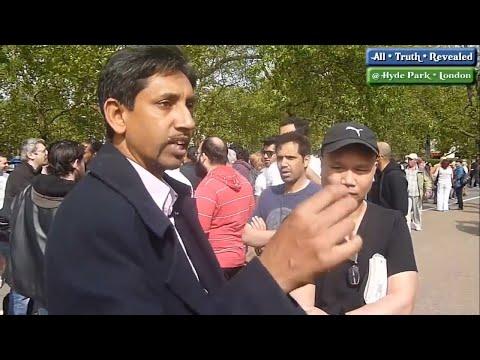 Legend!! Shabir Yusuf Vs Christians   Speakers Corner   Hyde Park