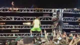 Rob Gronkowski Twerking At Ultra With 3LAU