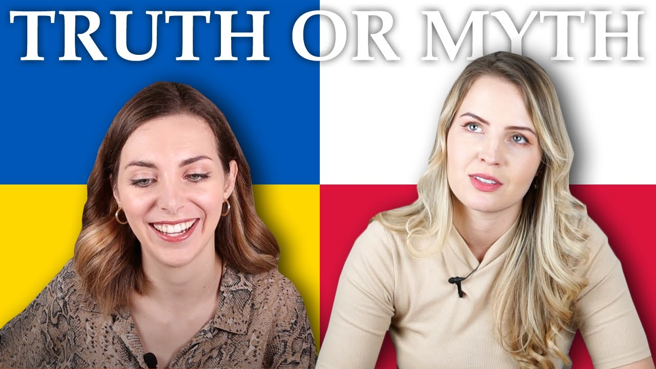 TRUTH or MYTH: Eastern (& Central) European Women React to Stereotypes I Youtuber Edition