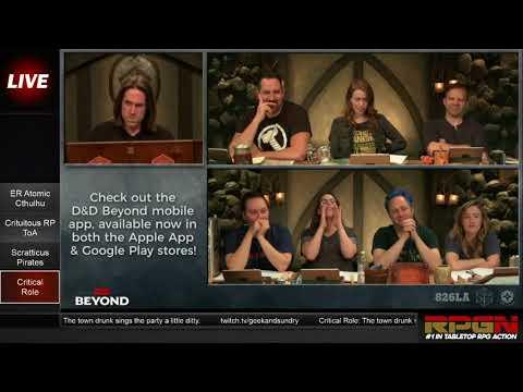 RPGN Episode 5: Web DM Tabletop Live Stream Highlight Comedy Show