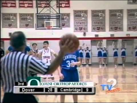 Cambridge at Dover HS Boys Basketball 12 9 14