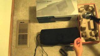 Unboxing Logitech Squeezebox Boom Network Music Player