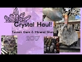 Crystal Haul! | Tucson Gem & Mineral Show 2017