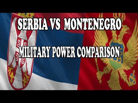 SERBIA VS MONTENEGRO - Military Power Comparison 2017