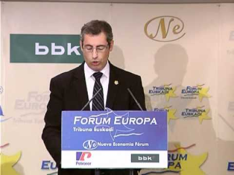 Fórum Europa Tribuna Euskadi con Markel Olano