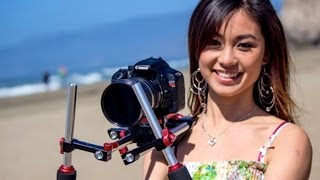 PR-1 DSLR Shoulder Rig Review & Test Footage