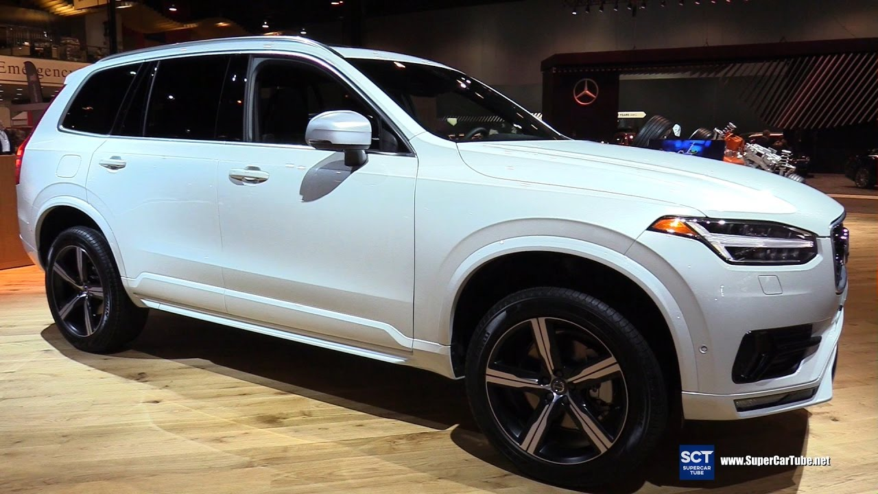 2017 Volvo Xc90 T6 Awd R Design Exterior And Interior Walkaround Chicago Auto Show