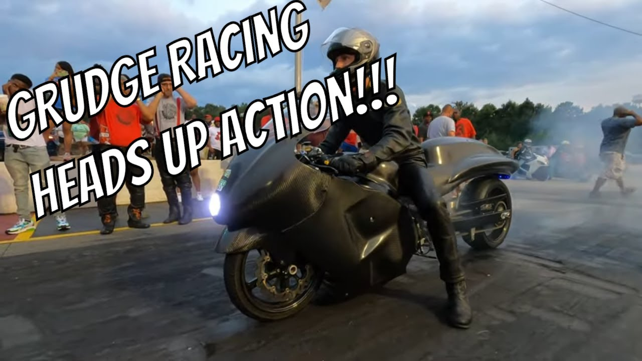 Moore Mafia returns to Grudge Racing riding a Nitrous Hayabusa- Can the Track HOLD IT?