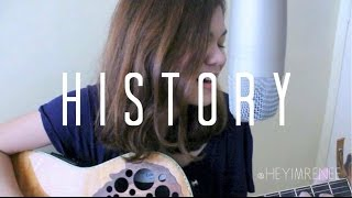 History-Reneé Dominique (One Direction cover) WATCH TIL THE END!