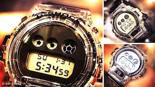 Casio G-Shock Clear Skeleton Round Face DW6900SK-1