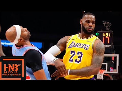 Los Angeles Lakers Vs Atlanta Hawks Full Game Highlights