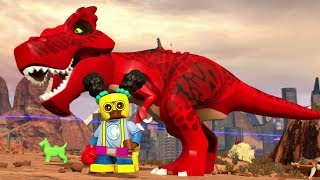 LEGO Marvel Super Heroes 2 - Devil Dinosaur & Moon Girl Free Roam (Champions DLC)