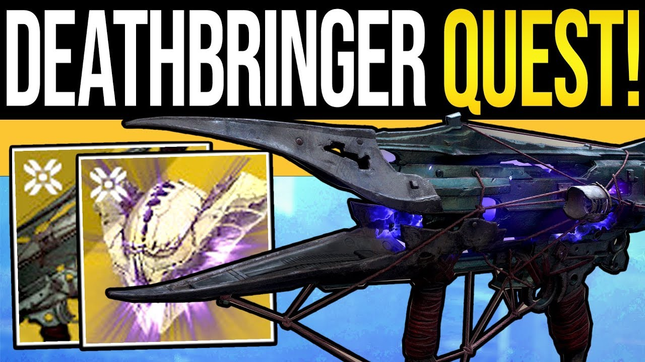 Here Are All The Quest Steps For Destiny 2: Shadowkeep's Deathbringer Exotic Rocket Launcher