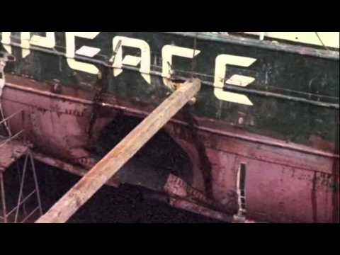 The bombing of the Rainbow Warrior in 1985