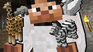 ПИТОМЦЫ ПОМОГАЮТ В ШАХТЕ! Майнинг Симулятор, Покупай Кирки, Открывай Уровни - Minecraft Мини-Игры