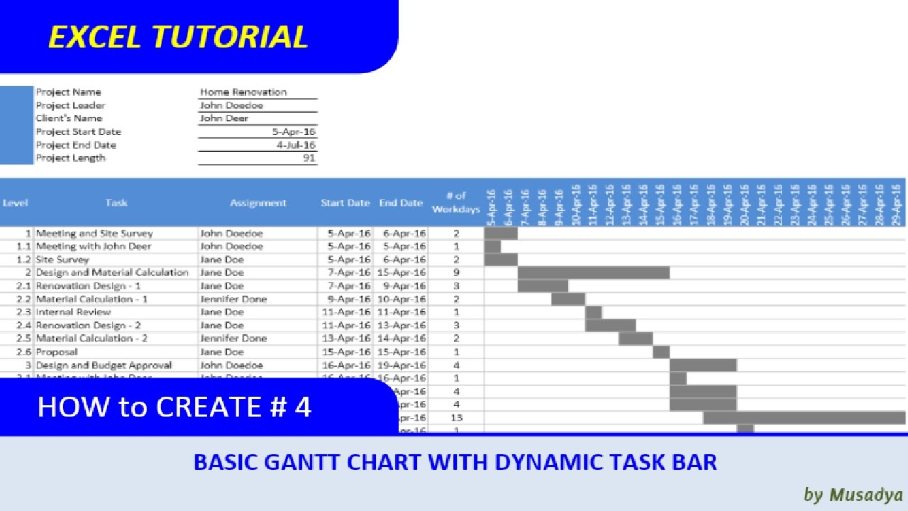 download gantt chart excel how to make gantt chart excel