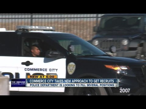 Commerce City takes new approach to get recruits