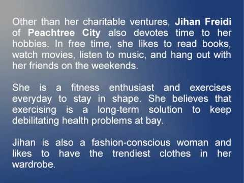 Jihan Freidi Of Peachtree City Likes To Participate & Volunteer In Community