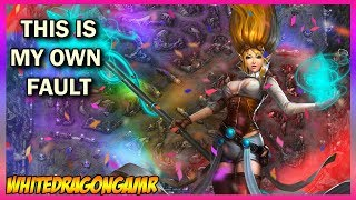 This is my own fault - League of Legends - Janna Gameplay