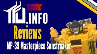 Masterpiece Sunstreaker MP-39 Review - TFU.INFO Reviews
