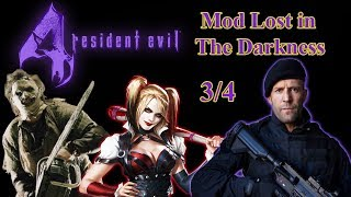 Resident Evil 4-Gameplay-3/4-Lost in The Darkness-Christmas-Chegou a Vez do Chefão da Vila