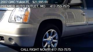 2007 GMC Yukon XL  - for sale in ROGERSVILLE, MO 65742