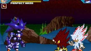 Sonic the Hedgehog Z MUGEN: Fight 4