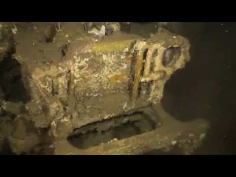 SS President Coolidge - A Dive to the Jeep Hold - Part 7