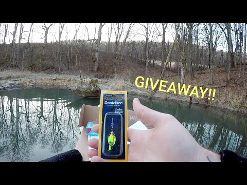 MTB TROUT Fishing Challenge | +Giveaway!!