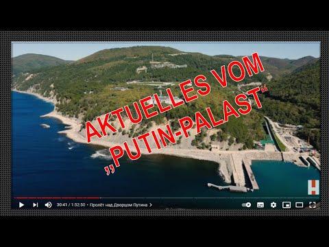 Neue aktuelle Videoaufnahmen vom «Putin Palast» am Schwarzen Meer