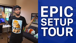 EPIC Setup, Tech, & Home Tour! (Late 2015)