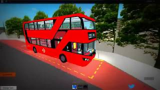 Roblox//East London Bus Simulator #3