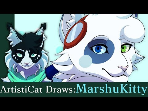 ArtistiCat Draws: MarshuKitty (Happy Birthday!)