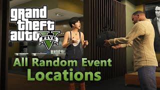 GTA 5 - Todos os Eventos Aleatórios (GTA 5 All Random Events Complete)