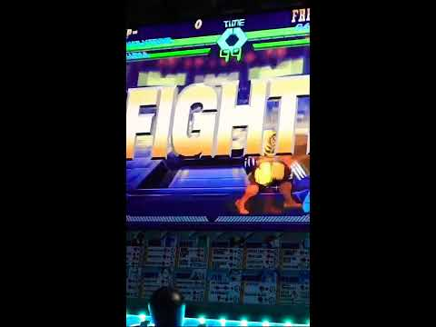 X-Men vs Street Fighter Arcade1Up Gameplay 🕹 from Zubia Creative