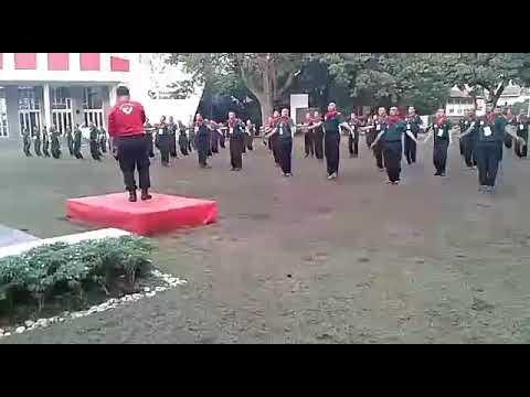 Senam Pagi Birawa Komando Telpro 2017