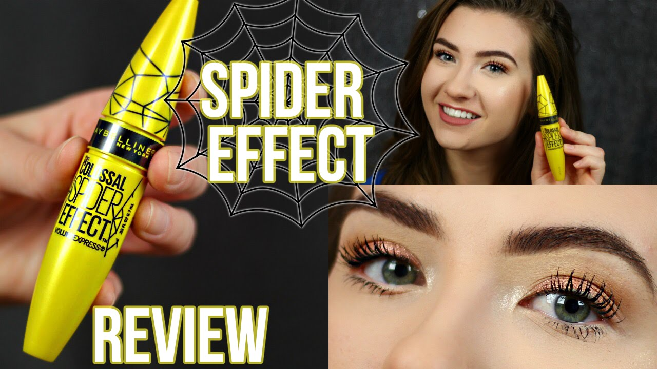 f1f0b81a445 Maybelline Spider Effect Mascara | First Impression Review - YouTube