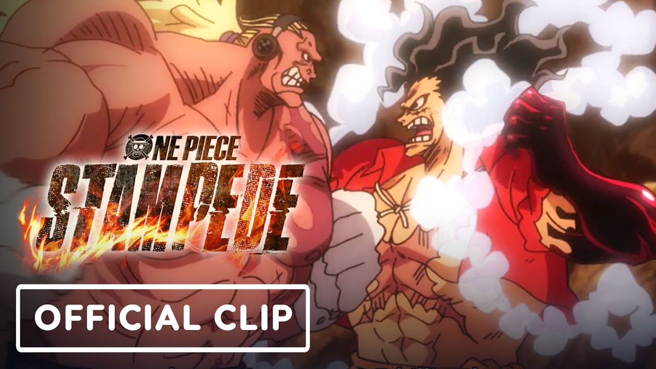 One Piece: Stampede - Luffy VS Bullet Fight Exclusive Clip (English Subtitles)