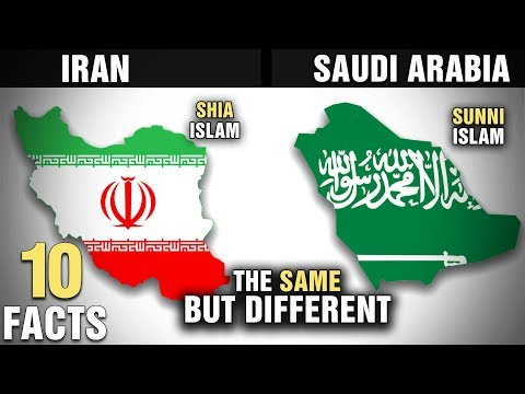 10 Surprising Similarities Between IRAN and SAUDI ARABIA