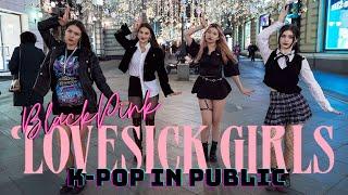 [K-POP IN PUBLIC] BLACKPINK `블랙핑크` - Lovesick Girls dance cover by PartyHard 파티하드