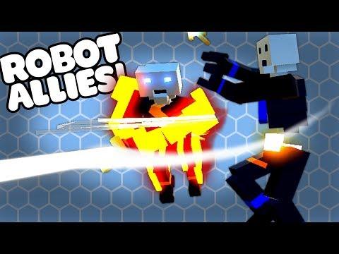 ROBOT VS ROBOT - Clone Drone Steam Workshop Gameplay